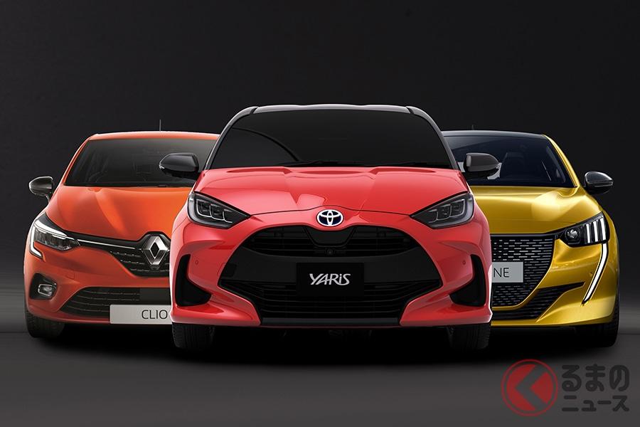 新型「ヤリス」はライバル「ルーテシア」と「208」にまさるコンパクトカーになりうる!?