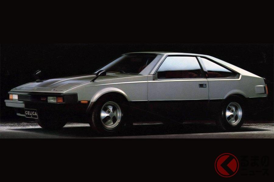 ロングノーズが印象的なトヨタ「セリカXX」