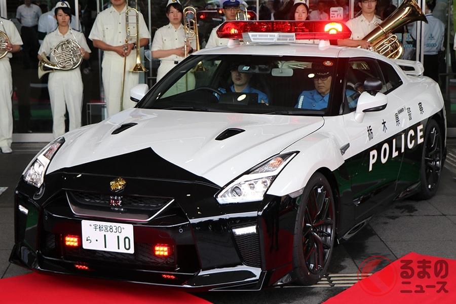 歴代最強の「GT-R」パトカー