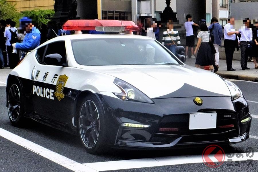 警視庁が採用した「Z34型フェアレディZニスモ」のパトカー