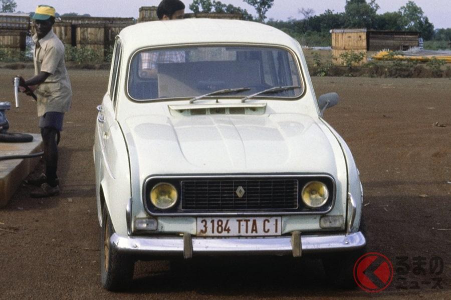 1992年まで製造しており日本でも人気だったルノー「4」