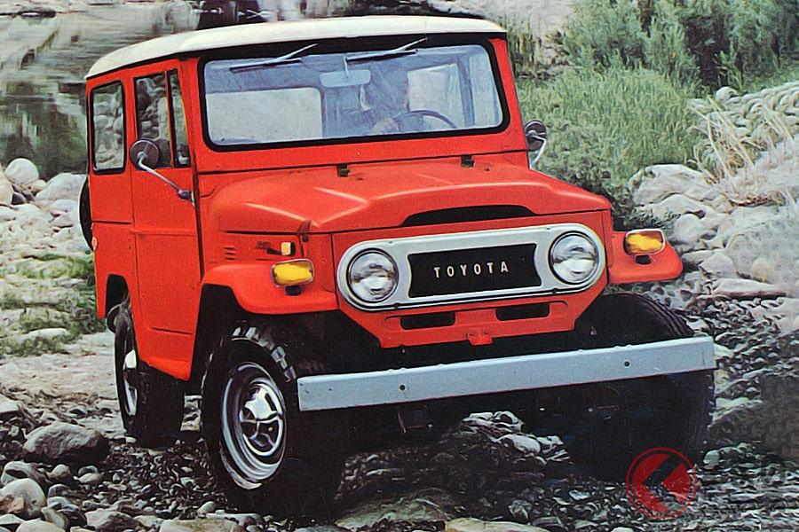 劇中でキムタクの愛車だったトヨタ「ランドクルーザー 40系」(画像は北米仕様のメタルトップ)