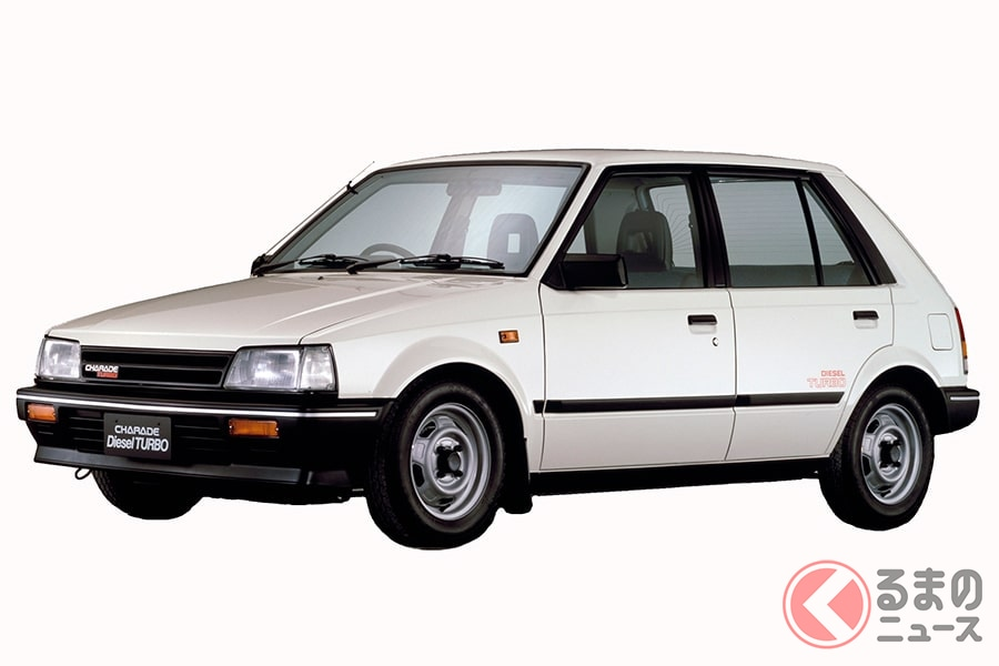 当時、世界最小のディーゼルエンジンを搭載した「シャレード」