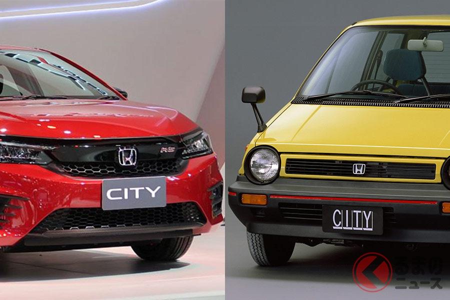 タイで発表された新型「シティ」と日本でかつて販売された「シティ」は似ても似つかないスタイル