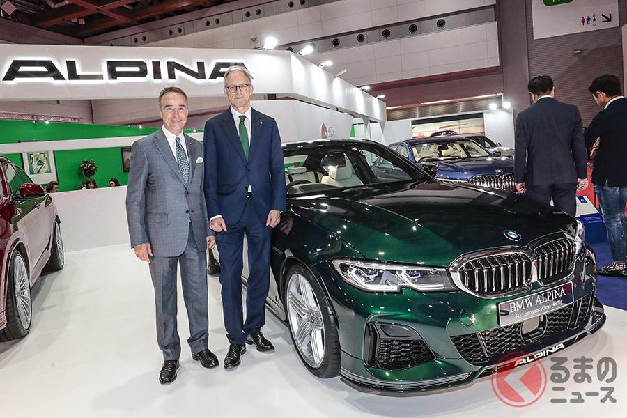 アルピナの日本総代理店であるニコル・オートモビルズは、東京モーターショー2019で連続17回目となる参加となった