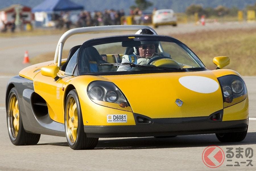 「公道走行もできる」レーシングカーのルノー「スポールスピダー」