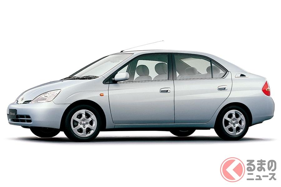 日本が世界に誇れるハイブリッド車の初代「プリウス」