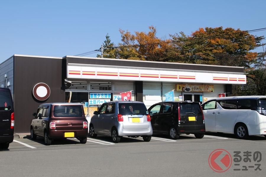 コンビニの駐車場の広さには、はたして基準があるのか(画像はイメージ)