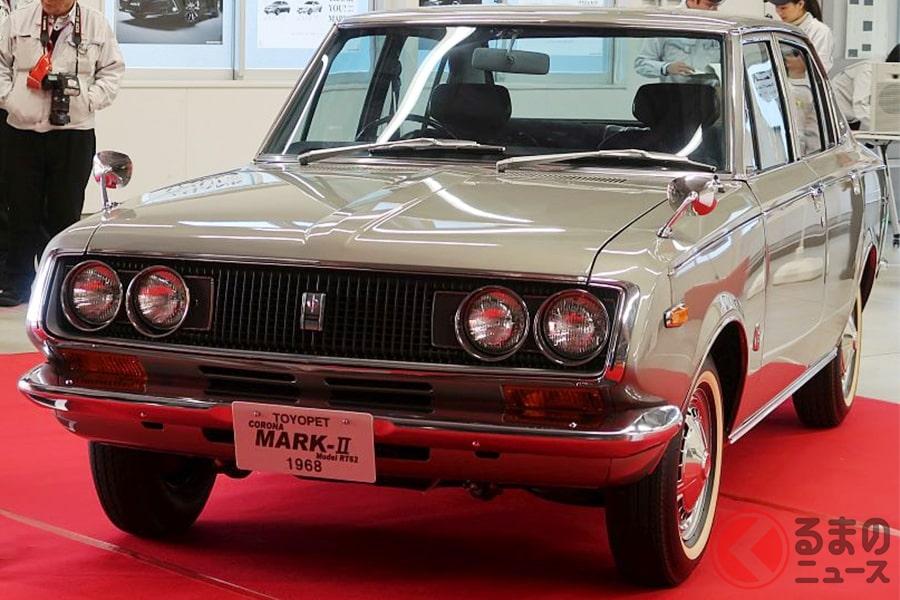 1968年発売の初代「トヨペット コロナマークII」