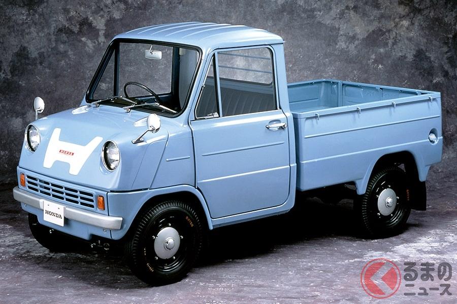 ホンダ初の4輪自動車として発売された「T360」はスーパートラック!?