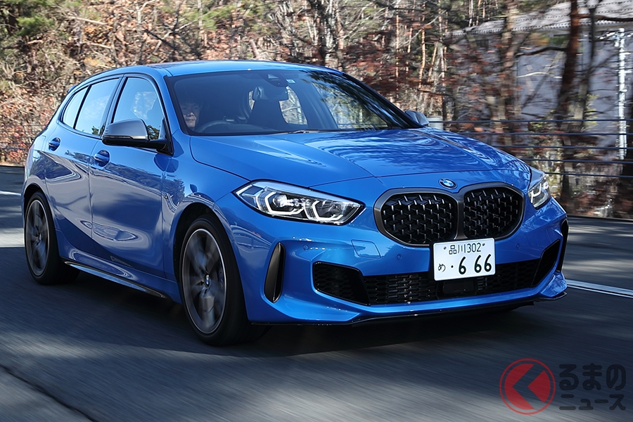 BMW「M135i xDrive」のWLTCモード燃費は12.0km/L