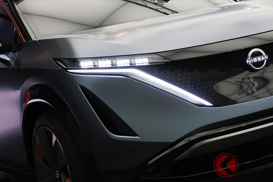 日産が2020年に新型車を5台導入すると発表。画像は2020年登場を予定しているSUV「ARIYA concept」