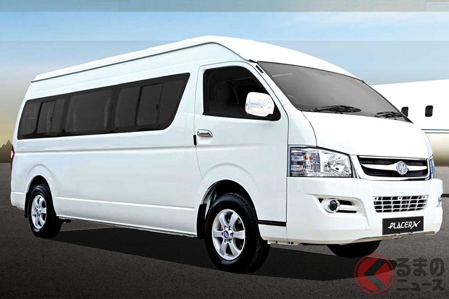 中国・九龍自動車からOEM供給を受けたマレーシアCAM社の「PLACER X」