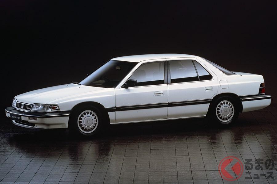 ホンダが高級車市場に初めて参入した立役者「レジェンド」