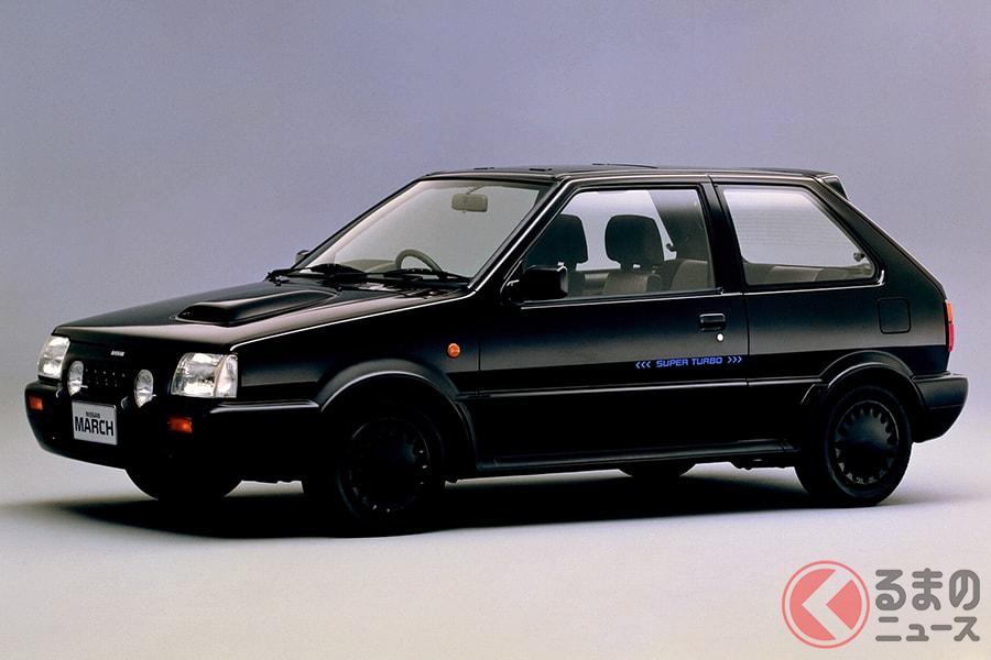 1980年代の日産を象徴する高性能モデルの1台「マーチスーパーターボ」