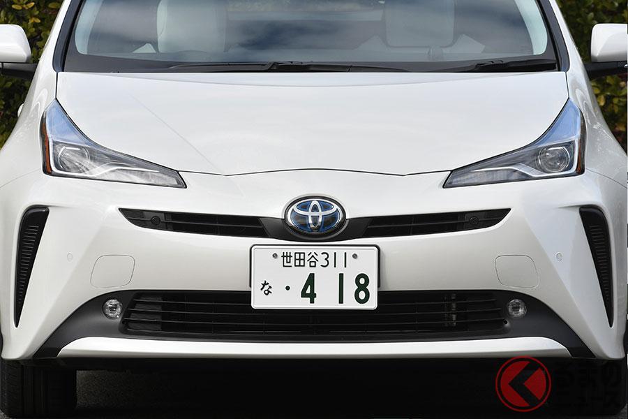 2019年の普通車販売ランキングのトップはトヨタ「プリウス」