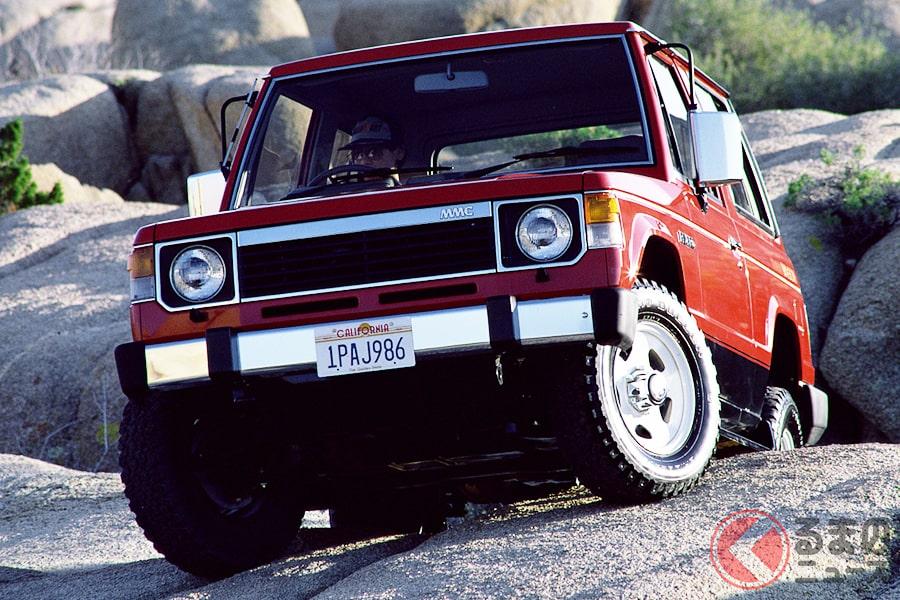 普段使いもできる本格4WDとしてデビューした「パジェロ」