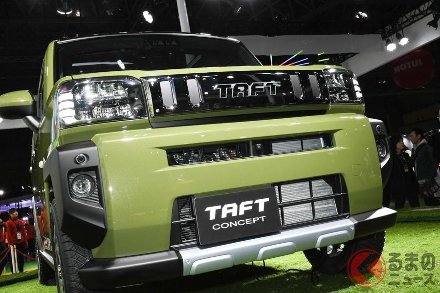 ダイハツが世界初披露した新型軽SUV「タフトコンセプト」