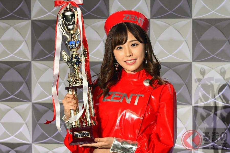 レースクイーン大賞2019のグランプリに輝いた「川村那月」さん