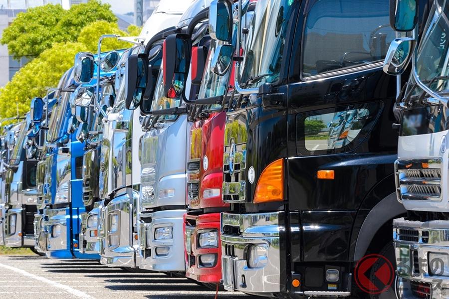 大型トラックに多いドレスアップ車両(画像はイメージ)