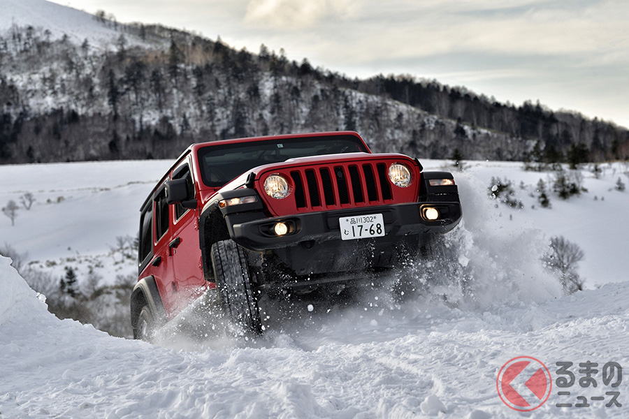 ラングラー・アンリミテッドで大人の雪遊びを堪能!