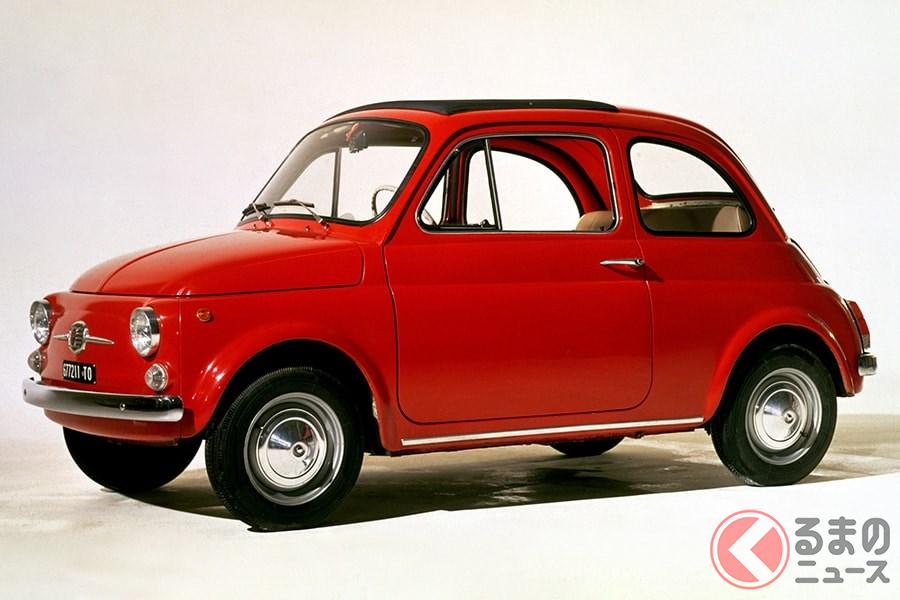 イタリアを代表する小型車の「NUOVA 500」