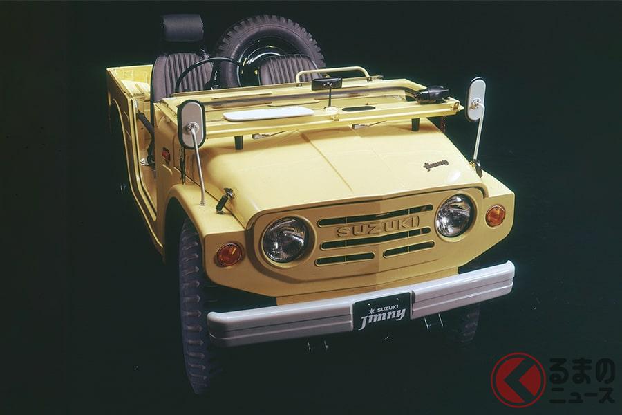 軽クロスカントリー車として唯一無二の存在「ジムニー(初代)」