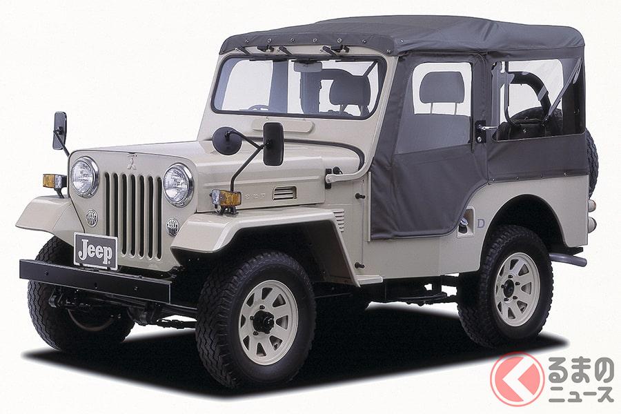 原点にして究極の4WD車として君臨する「ジープ」