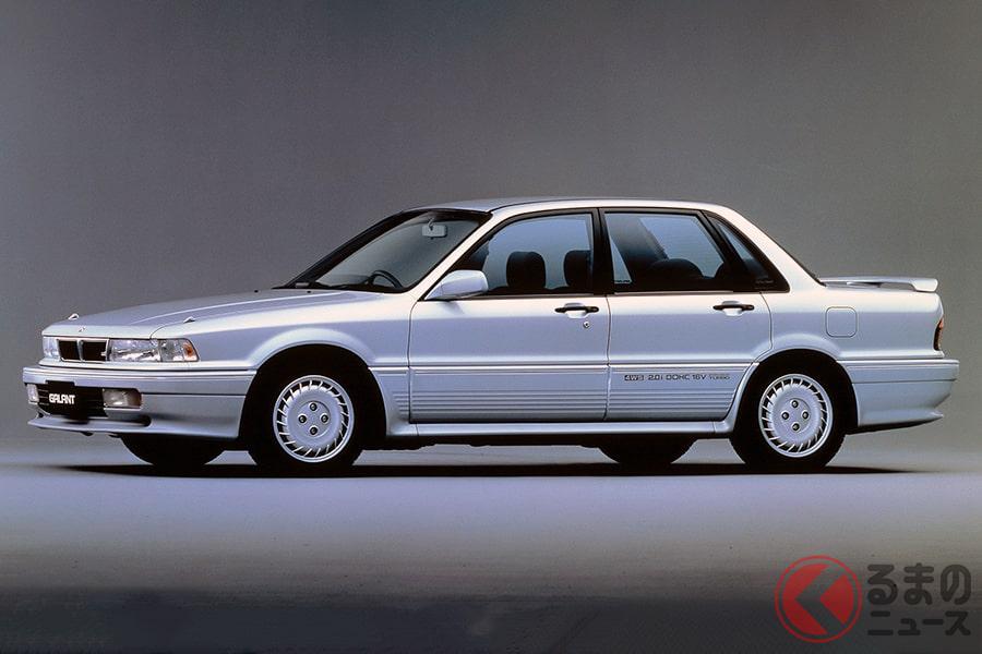 モータースポーツでも活躍した高性能4WD車の先駆け「ギャランVR-4」