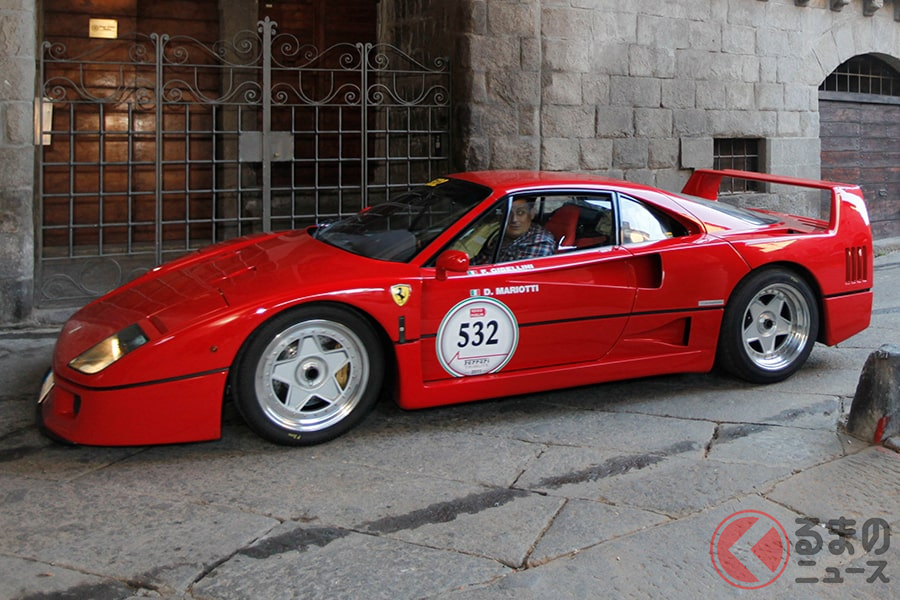 フェラーリのスペチアーレのなかでもTOPに君臨する「F40」