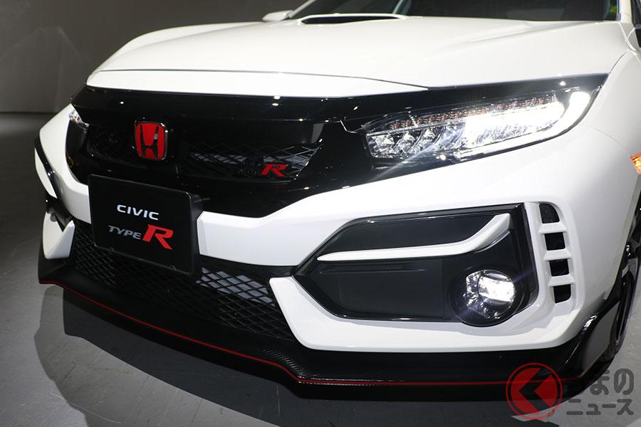 2020年夏発売予定のホンダ新型「シビックタイプR」
