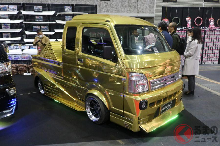 黄金過ぎる軽トラ。カスタム業界や海外では人気は高いものの、新車販売では苦戦を強いられている?