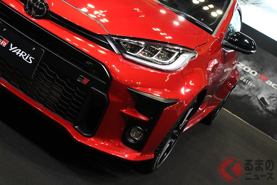赤い! 赤過ぎる! トヨタ「GRヤリス」の特別モデル
