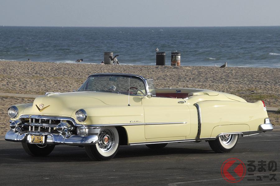 1953年製キャデラック「エルドラドコンバーチブル」