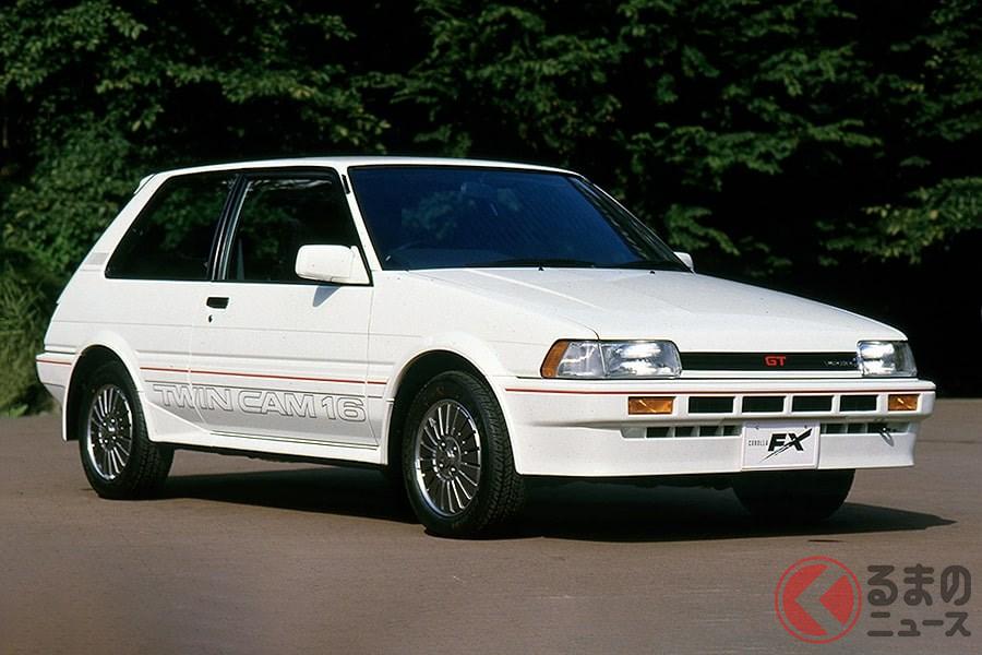FF派のトヨタ車好きにとって理想的なクルマだった「カローラFX」