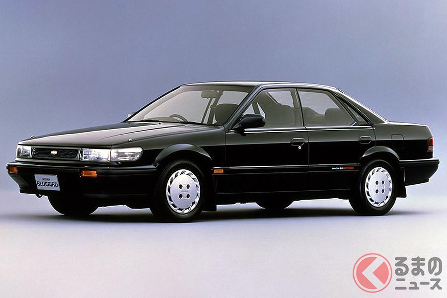 シリーズ初の4WDモデルとなった「ブルーバード SSSアテーサ」
