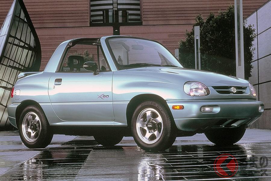 コンセプトカーそのままで発売された「X-90」(画像は欧州仕様)