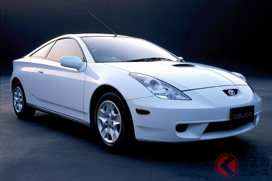 FFスポーツカーとしてハンドリングが高く評価された「セリカ」