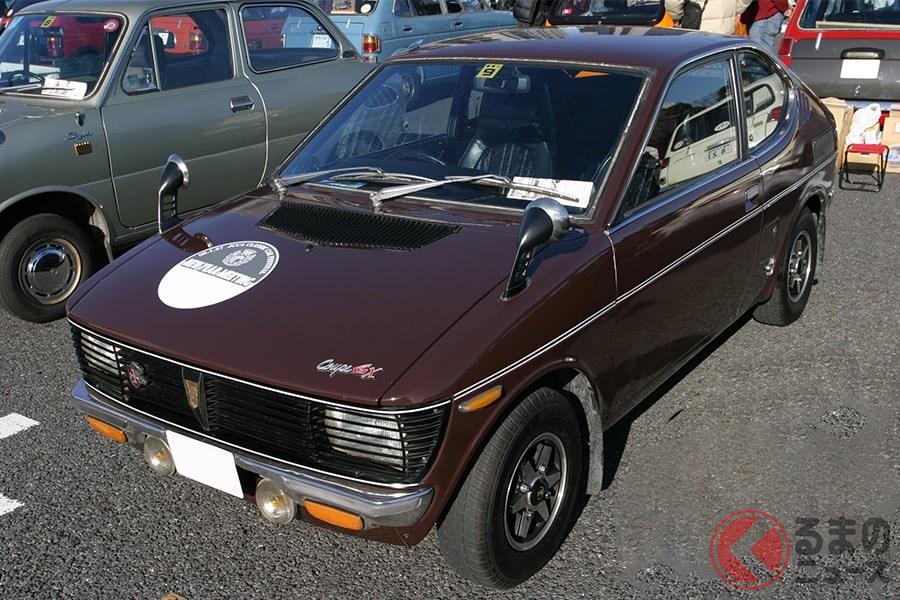 初の本格的な軽スポーツカーとしてデビューした「フロンテクーペ」