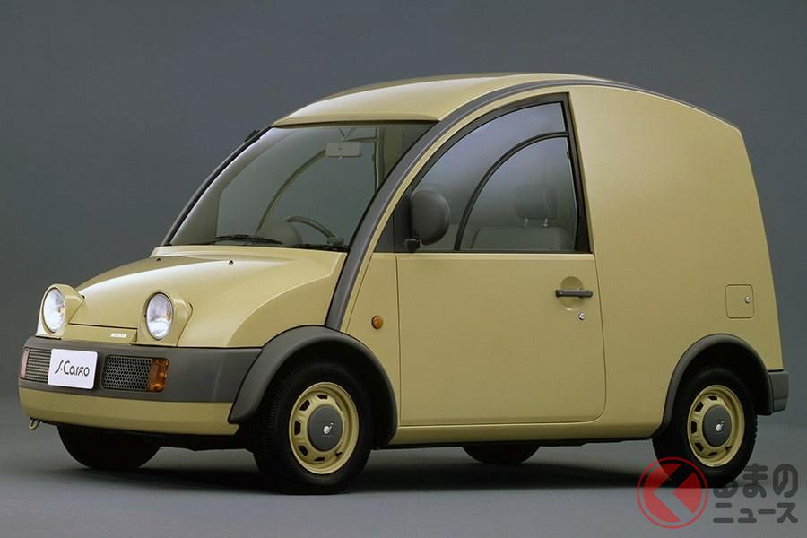 斬新なデザインのライトバンとして人気を博した「エスカルゴ」