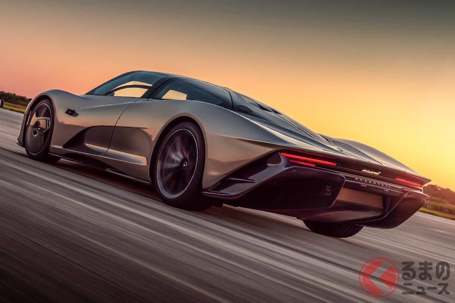 安定して400km/hオーバーを出すことができるのが、マクラーレン・スピードテールのすごいところだ