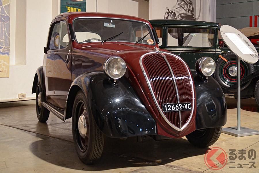 「トポリーノ(ハツカネズミ)」愛称で親しまれた、初代フィアット500