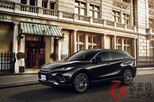 【最新情報】トヨタ新型ハリアーの発売日や価格・納車時期はどうなる?
