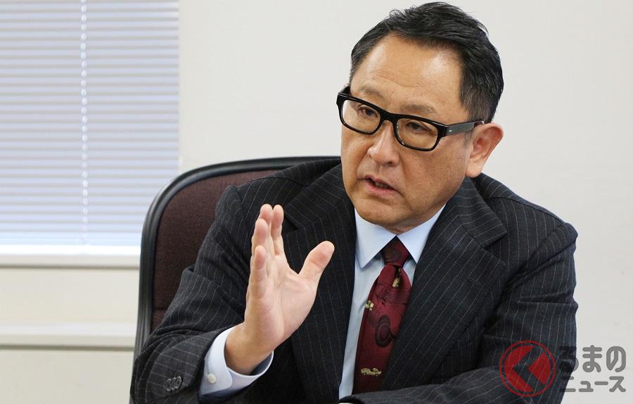 トヨタ自動車の豊田章男社長(撮影:くるまのニュース編集部)
