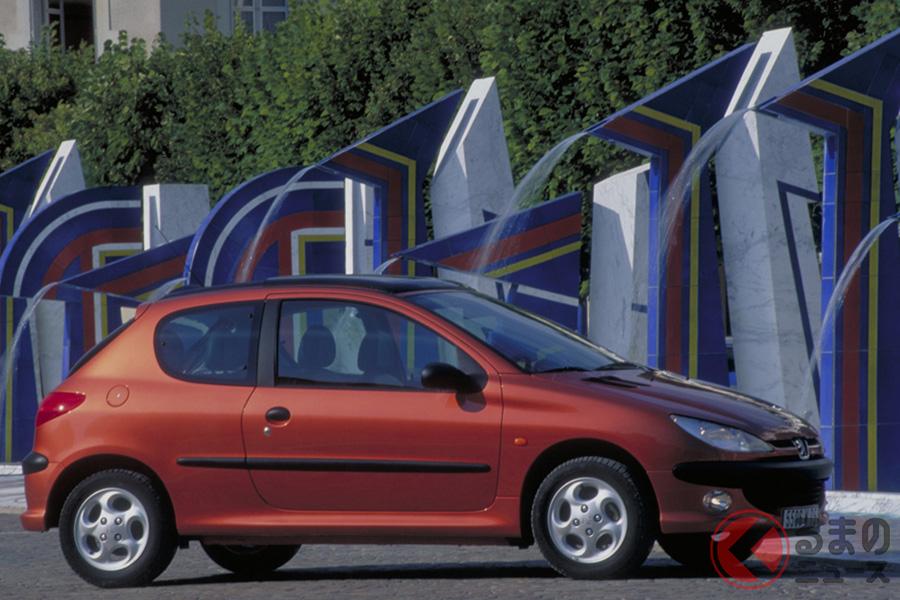 日本でも大ヒットモデルとなったBセグメントハッチバック「206」。2003年には8657台が登録された