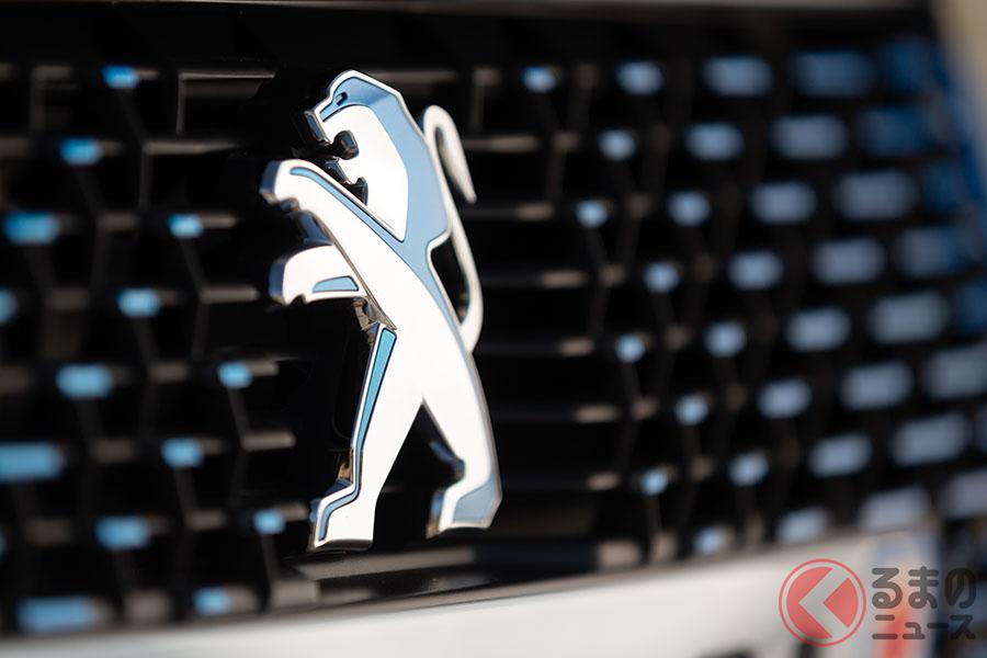 創業以来続くプジョーの「ライオン」エンブレム。現行は2010年に一新されたものだ