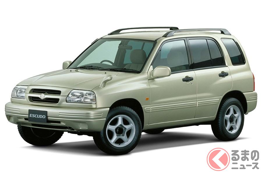 ライトなイメージだがしっかりと本格派の4WD車だった2代目「エスクード」