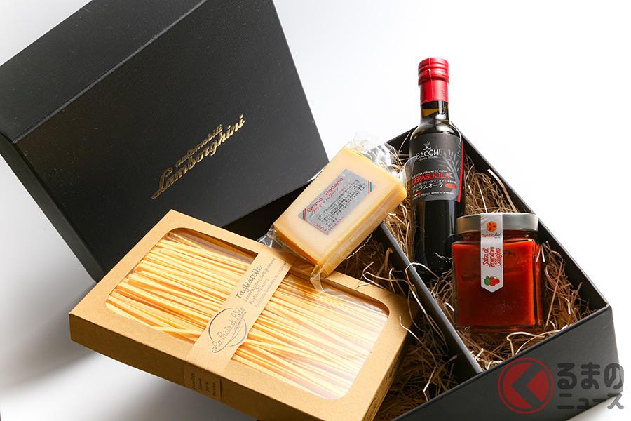 ランボルギーニが、イタリア・ボローニャ地方の伝統を身近に感じることができるささやかなパスタセットをプレゼント