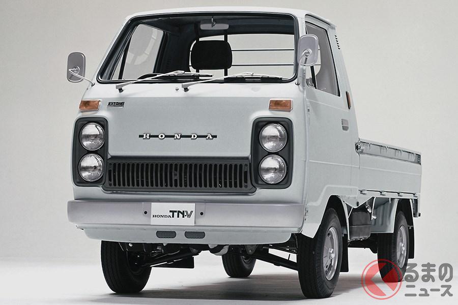 軽トラックでは唯一無二の4灯ヘッドライトを採用した「TN-V」