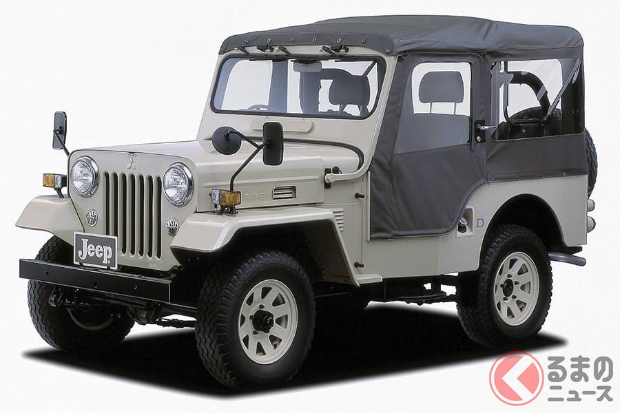 日本を代表するクロスカントリー4WD車に君臨していた「ジープ」